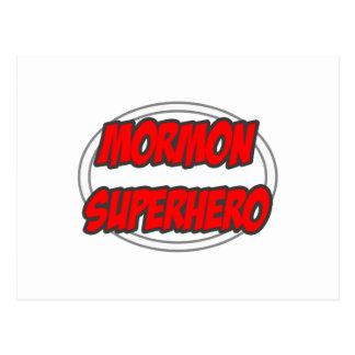 Mormon Superhero Post Cards