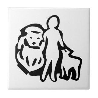 Mormon Symbol Tile
