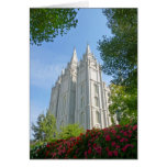 Mormon Temple Card