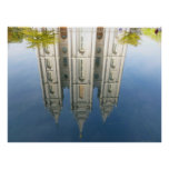 Mormon Temple Reflection Posters