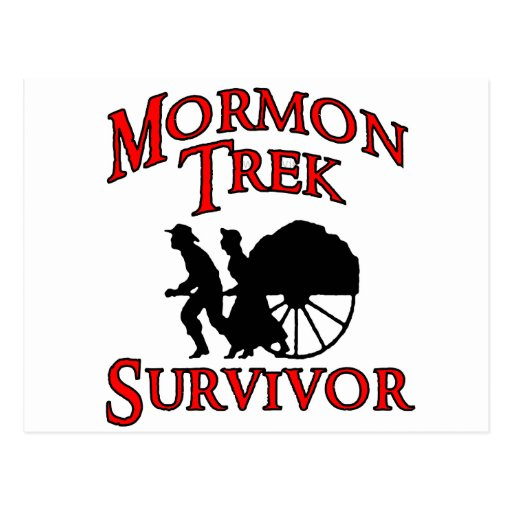 mormon trek survivor postcards