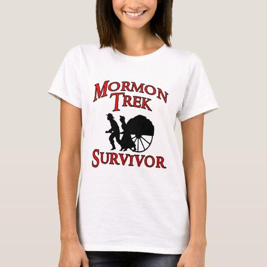 mormon trek survivor T-Shirt