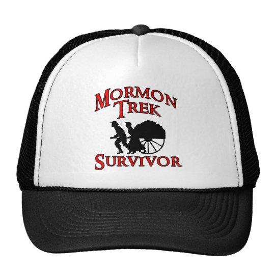 mormon trek survivor trucker hat