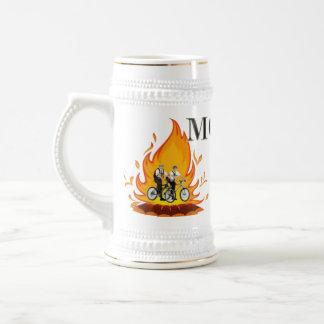 Mormones en la taza del fuego