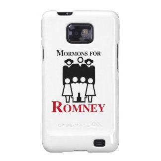 Mormones para Romney.png Samsung Galaxy SII Carcasas