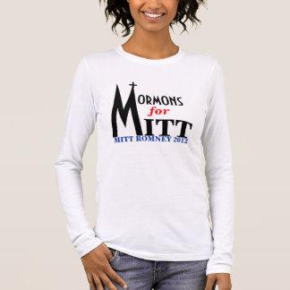 Mormons for Mitt Long Sleeve T-Shirt