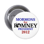 Mormons for Romney 2012 2 Inch Round Button