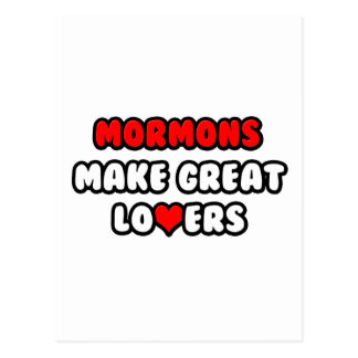 Mormons Make Great Lovers Postcard