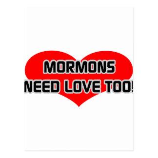 Mormons Need Love Too Postcard