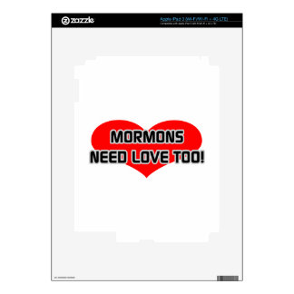 Mormons Need Love Too iPad 3 Skins