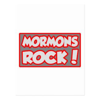 Mormons Rock! Postcard
