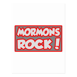 Mormons Rock! Post Cards