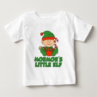 Mormor's Little Elf Baby T-Shirt