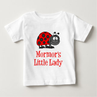 Mormor's Little Lady Baby T-Shirt