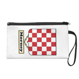 Morney Family Crest Wristlet Clutches