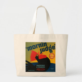 Mornin Judge Grapefruit and Oranges Large Tote Bag