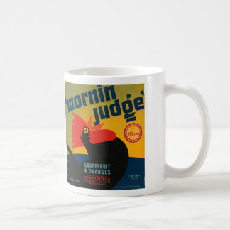 Mornin Judge Grapefruit and Oranges Mugs