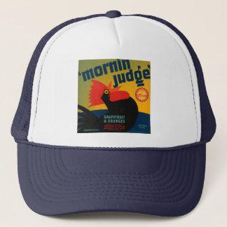 Mornin Judge Grapefruit and Oranges Trucker Hat