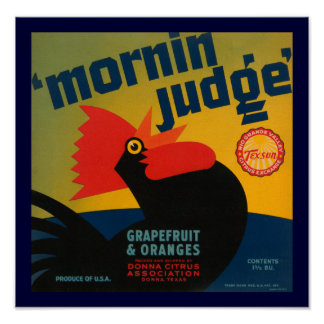 Mornin Judge Poster