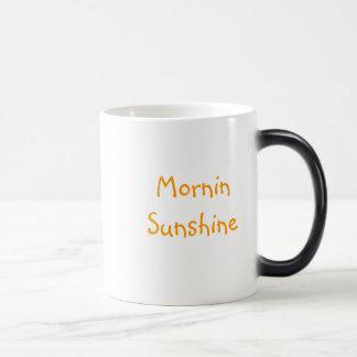 Mornin Sunshine 11 Oz Magic Heat Color-Changing Coffee Mug