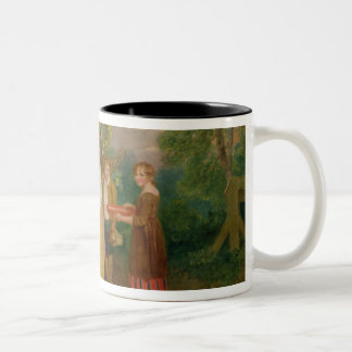 Morning, 1799 (oil on canvas) Two-Tone coffee mug