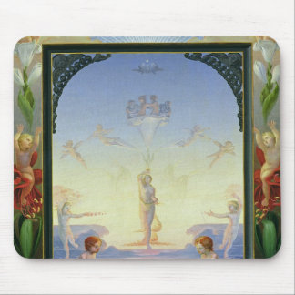 Morning, 1808 mouse pad