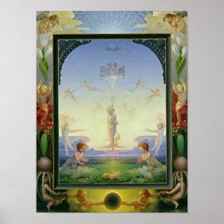 Morning, 1808 poster