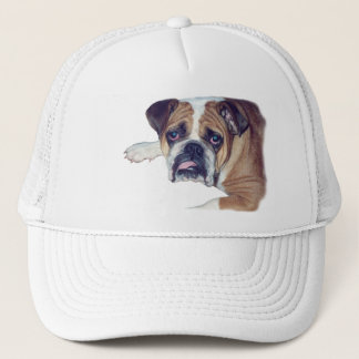 Morning after bulldog trucker hat