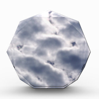 Morning Altocumulus Clouds Acrylic Award