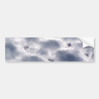Morning Altocumulus Clouds Bumper Stickers