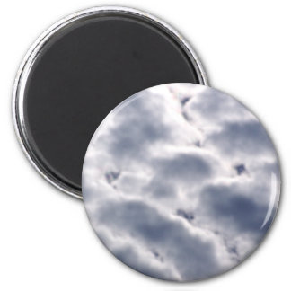 Morning Altocumulus Clouds Fridge Magnets