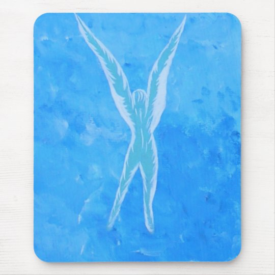 Morning Angel Mouse Pad