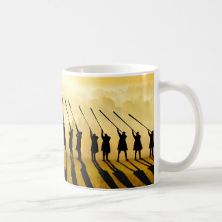 Morning Anthem Classic White Coffee Mug
