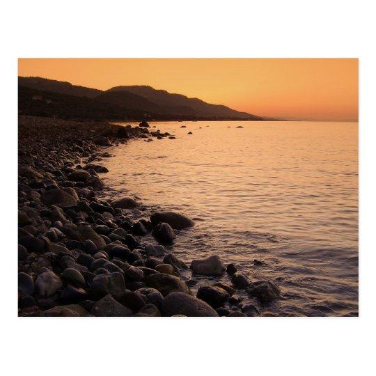 Morning At Aegean Sea Postcard