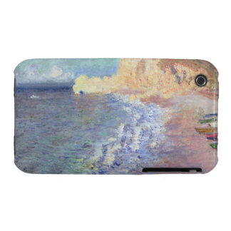 Morning at Etretat, 1883 (oil on canvas) iPhone 3 Cover