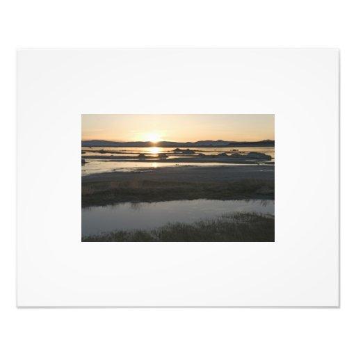 Morning at Mono Lake Photo Print