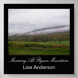Morning At Pigeon Mountain Print