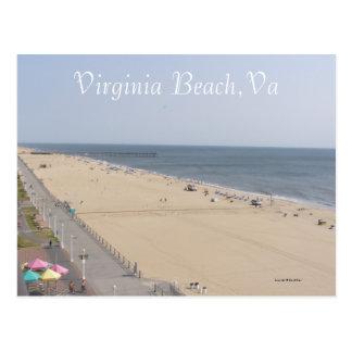 Morning at the Beach Postcard