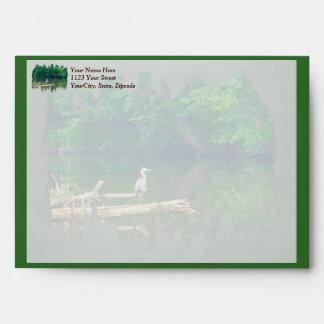 Morning at the Creek Envelopes