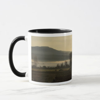Morning at the farm mug