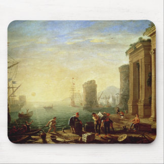 Morning at the Port, 1640 (oil on canvas) Mouse Pad