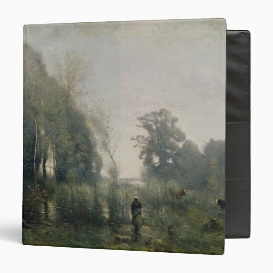Morning at Ville-d'Avray or, The Cowherd, 1868 Binder