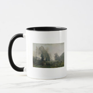 Morning at Ville-d'Avray or, The Cowherd, 1868 Mug