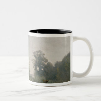 Morning at Ville-d'Avray or, The Cowherd, 1868 Two-Tone Coffee Mug
