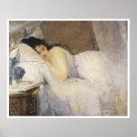 Morning Awakening 1877-78, Eva Gonzales Poster