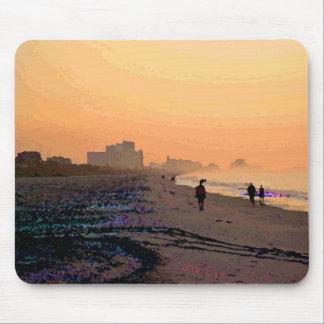 Morning Beachwalk Mousepad