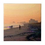 Morning Beachwalk Tile (Reversed)