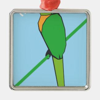Morning Bird Metal Ornament