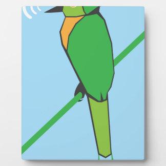 Morning Bird Plaque
