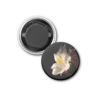 Morning Bloom 1 Inch Round Magnet
